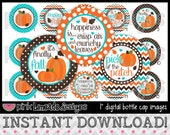 "Finally Fall - INSTANT DOWNLOAD 1"" Bottle Cap Images 4x6 - 699"