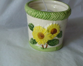 Sunflower Votive Cup