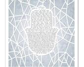 Ice Ray Hamsa VI Papercut Ketubah