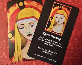 Spirit Dancing Spiritual Affirmation Cards