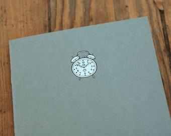 Alarm Clock Notebook - To Do Cahier