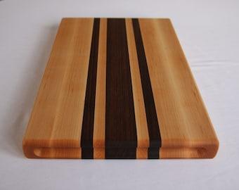 Maple Cutting Board w/ finger slots