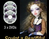 Sculpting a Steampunk Art Doll Class on DVD with PDF additional materials