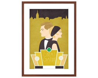 The Great Gatsby - 11x17 poster