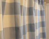 Buffalo Check P Kaufmann Shower Curtain Available in Different Colors