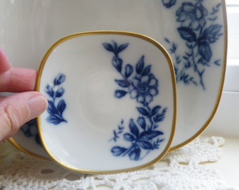 Vintage K & A Krautheim Bread and Butter Plates, Made in Germany, Butter Pat Dish, Butter Pat Plate