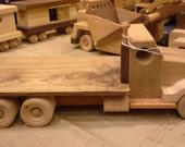 Handmade Wooden Flatbed Vehicle Truck