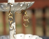 Little Golden Rings Earrings