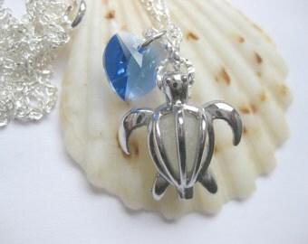 Beach Theme jewelry beach jewelry turtle necklace sea glass Jewelry Beach Glass Jewelry Handmade, Custom Jewelry
