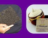 Divadezines Glitter Evening Purse and Organic Body Butter Beauty Concentrate by Annwyn Organic /  Easter Offer