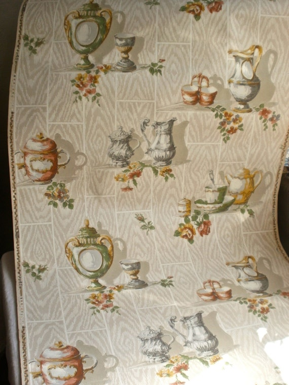 Vintage Wallpaper 1920s Wall Decor French Home Decor