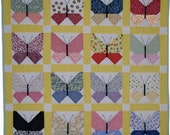 Retro Butterfly Quilt Pattern