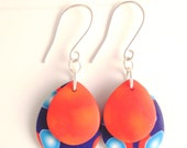 La Mer Collection Polymer Clay and sterling silver Dangle Earrings