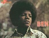 Michael Jackson vinyl record  - Ben -  Original Pressing - Vintage record lp in Excellent plus Condition