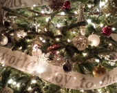 Tree Garland  (9 Yard Roll ) - joy to the world