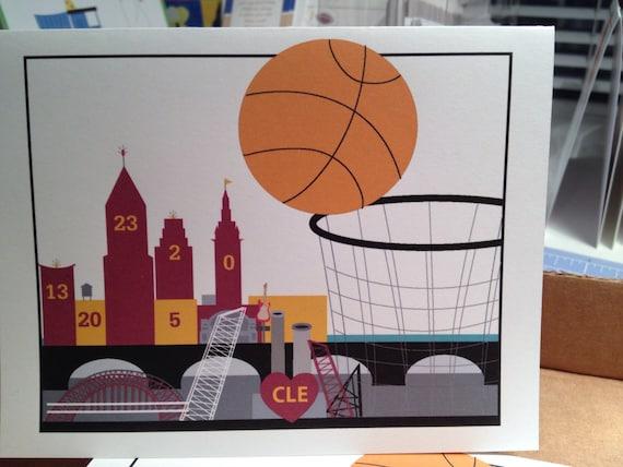 Cleveland basketball card