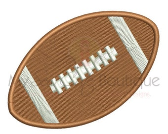Football Embroidery Design - 12 sizes - Instant Download