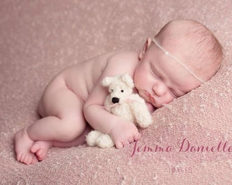 New born fluffy mini bear