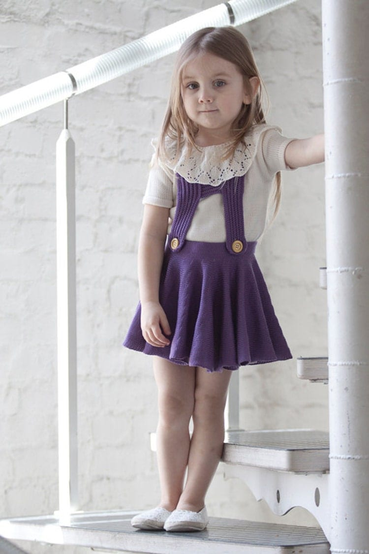 girls skirt with suspender pinafores skirt by marumakids on etsy