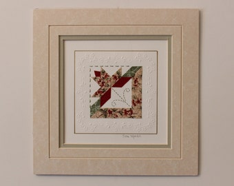 "8"" x 8"" matted PaperQuilt"
