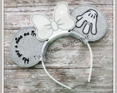 He put a ring on it- CUSTOM Engagement Bride Mouse Ears Headband