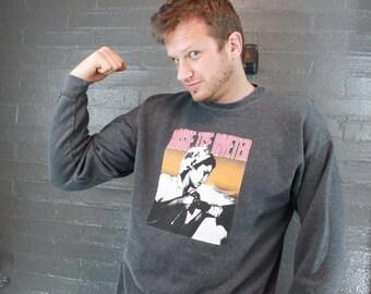 Vintage 90s Rosie the Riveter Sweatshirt
