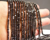 Hematite - 3mm faceted square - full strand - 142 beads - AA quality - CHG36