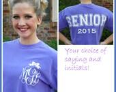 Comfort Colors Tshirt - Comfort Colors Senior T Shirt - Comfort colors Graduation Tee