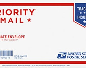 Priority Mail Small Flat Rate Envelope  Shipping