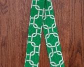 CAMERA STRAP in Green Chainlink