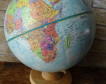 "Vintage Globe World Nation 12"""