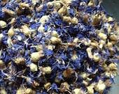 Organic Blue Cornflowers