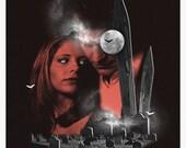 Buffy The Vampire Slayer alternative tv show poster