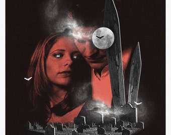 Buffy The Vampire Slayer alternative tv show poster