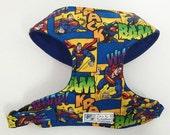 Comic Superman Comfort Soft Dog Harness - Made to Order -