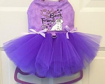 Girls Best Friend Harness-Dress.