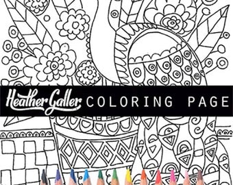 Peacock Coloring Book Adult Pages
