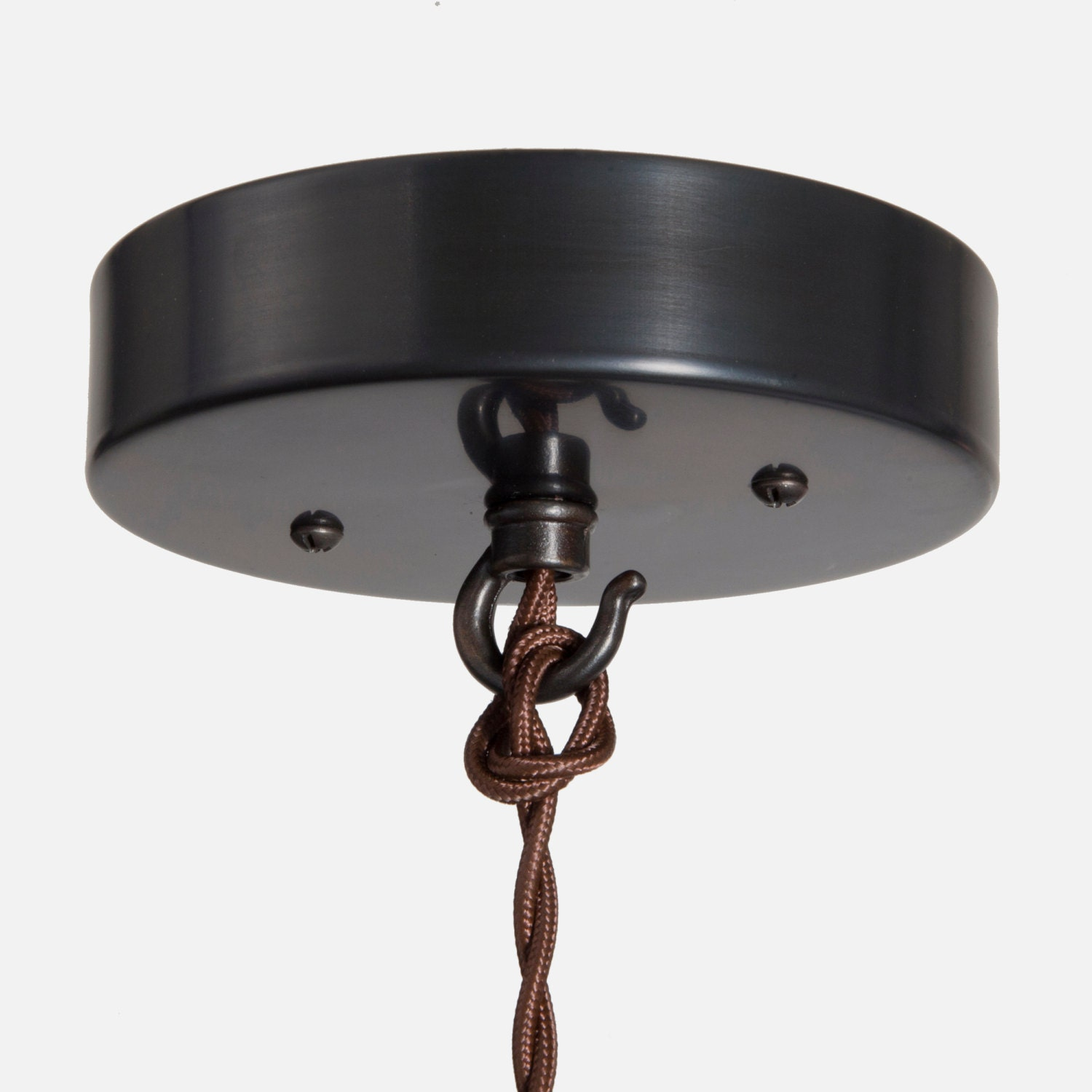 Ceiling Canopy Kit Ebony Brass Pendant Light Ceiling Box