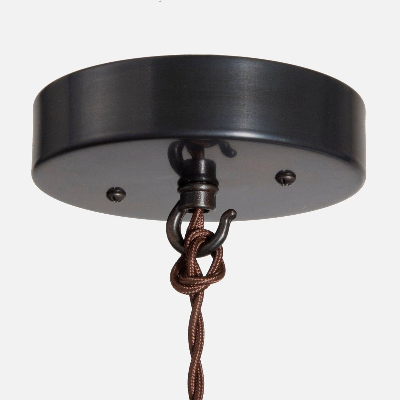 Pendant Light Kit Screwfix : Ceiling canopy kit ebony brass pendant light box