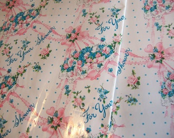 lovely shower gift wrap