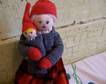 denmark momma with baby dolls