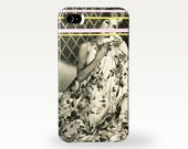 Black and White Boudoir Phone Case for iPhone and Samsung Galaxy - Bedroom Eyes