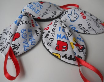 Pee Pod / Diaper Change Accessory / Diaper Bag Accessories / Boy Baby Shower Gift  / Mickey Mouse Words