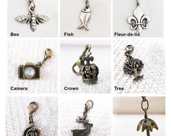 Buy 5 Get 1 Free: Your Choice of Zipper Charm