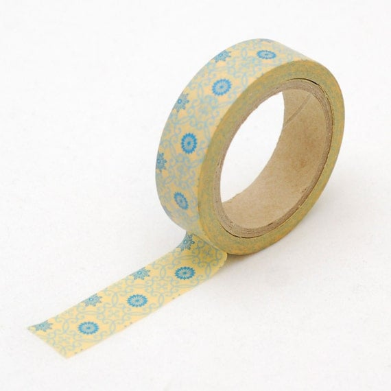 Japanese Washi tape - Floral masking tape - Love My Tapes