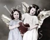 Valentine Angels-Digital Image Download