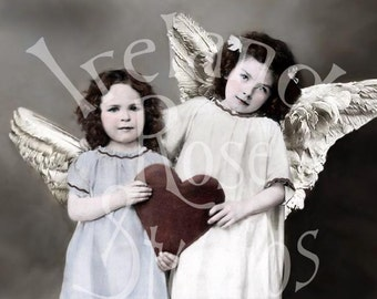 Valentine Angels-Digital Image Download