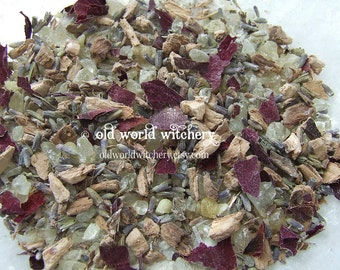 The Lunar Sea Witch Herb and Resin Incense Blend