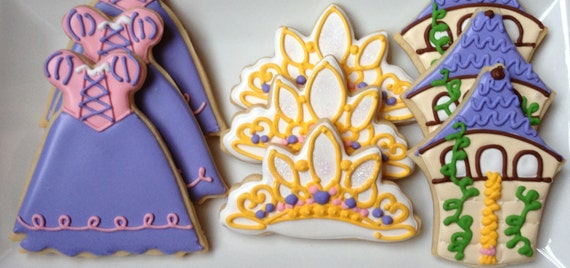 Fairy Tale Princess Sugar Cookie Collection