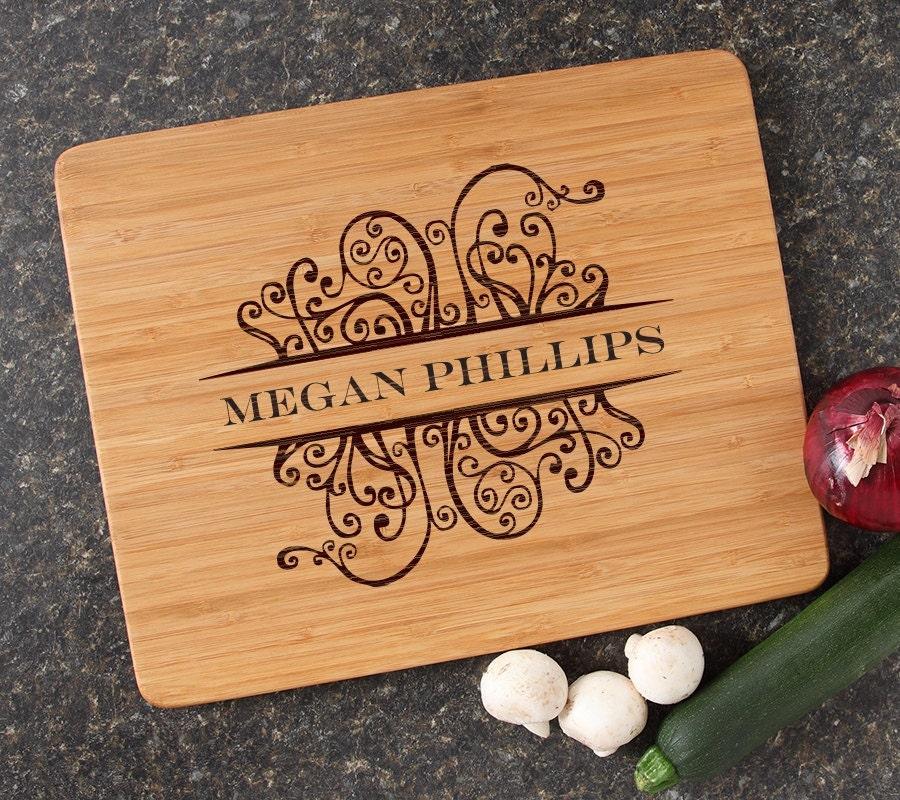 Unique Wedding Gifts Au : Cutting Board Personalized Wedding Gift Personalized Gift